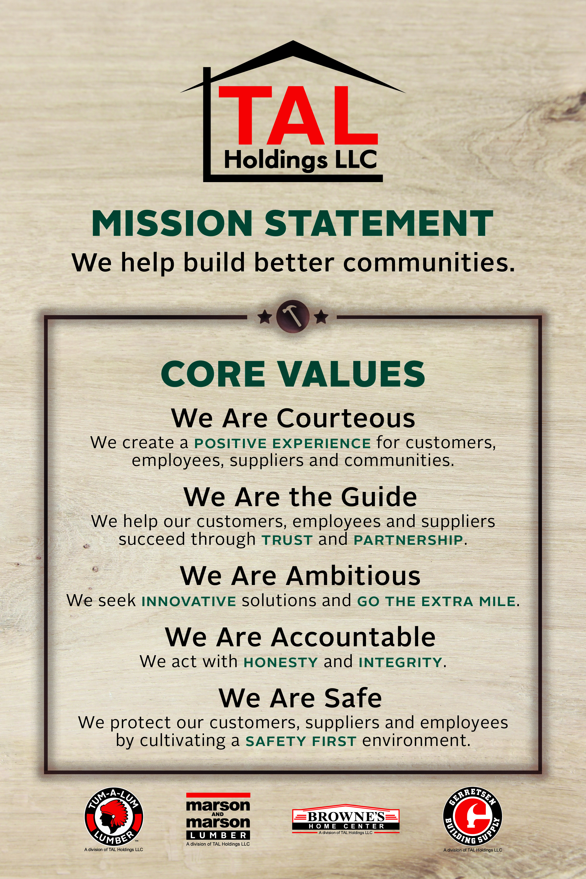 TAL Mission Statment graphic
